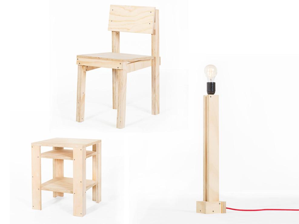 easy DIY plywood furniture